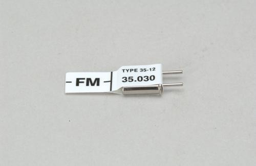 Futaba Ch 63 (35.030)FM Rx Xtl