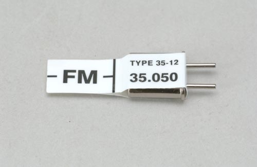 Futaba Ch 65 (35.050)FM Rx Xtl