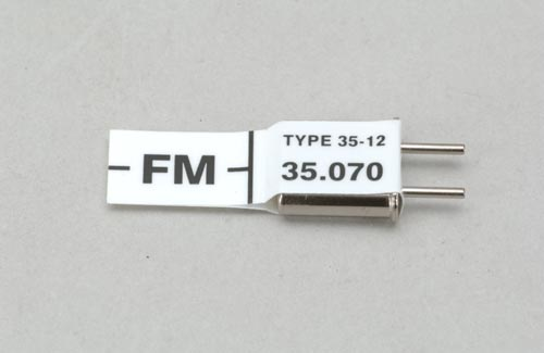 Futaba Ch 67 (35.070)FM Rx Xtl