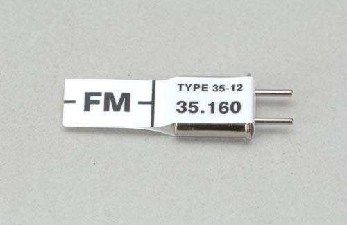 Futaba Ch 76 (35.160)FM Rx Xtl