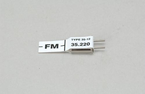 Futaba Ch 82 (35.220)FM Rx Xtl