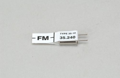 Futaba Ch 84 (35.240)FM Rx Xtl
