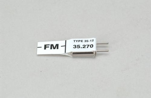 Futaba Ch 87 (35.270)FM Rx Xtl
