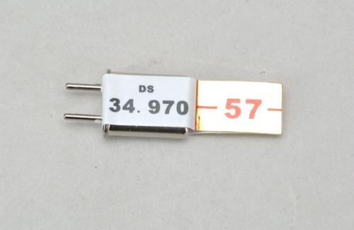Ch 57 (34.970)FM Rx Xtl DC Cirrus