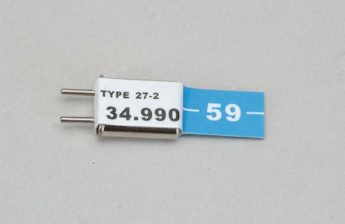 Ch 59 (34.990)FM Rx Xtl Cirrus