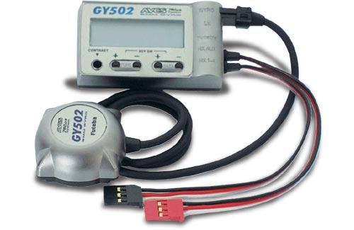 Futaba Gyro-Piezo GY502 (AVCS)