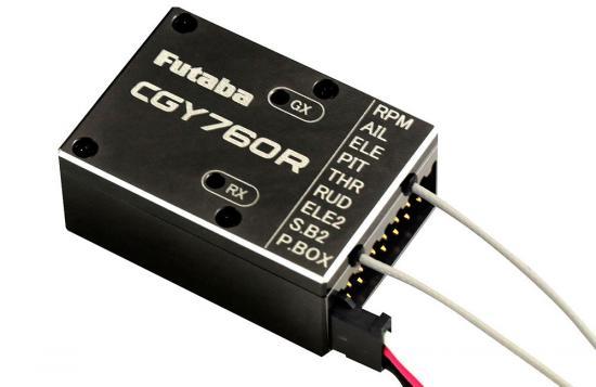 Futaba CGY760R - Gyro, Receiver (FASSTest/T-FHSS Air) & Governor