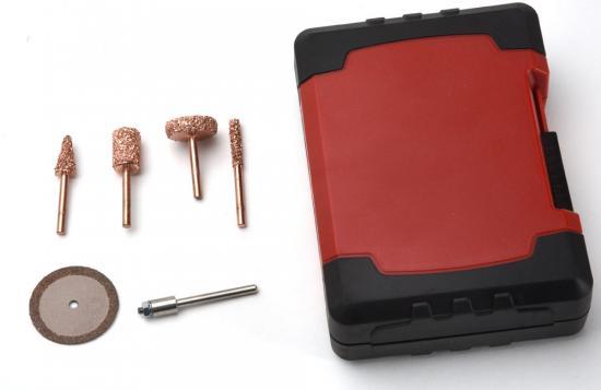 Perma Grit 5Pc Rotary Kit - Fine