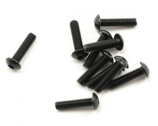 Team Durango Button Head Hex Screw 3x12mm (6)
