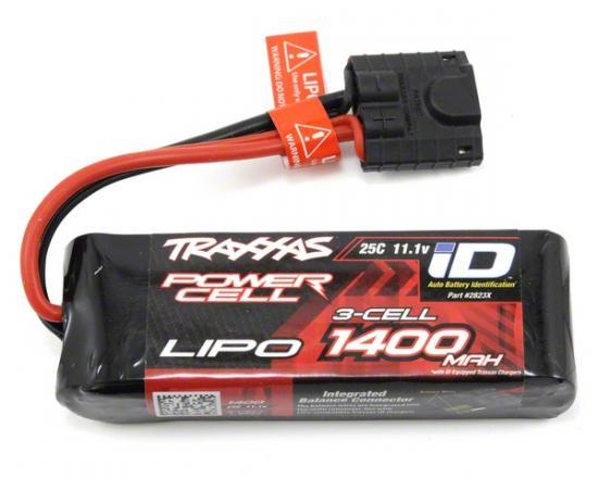Traxxas iD LiPo Battery for 1:16 Vehicles - 1400mAh 11.1V 3S 25C