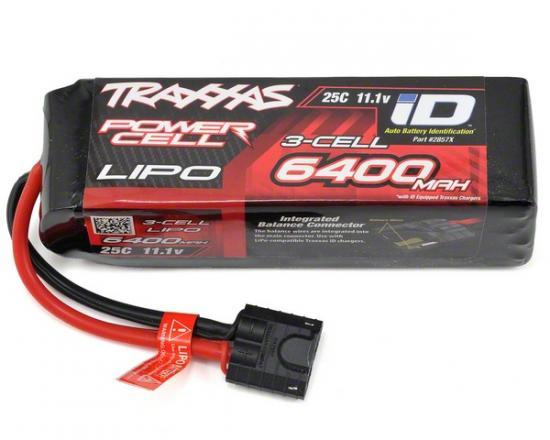 Traxxas iD LiPo Battery - 6400mAh 11.1V 3S 25C