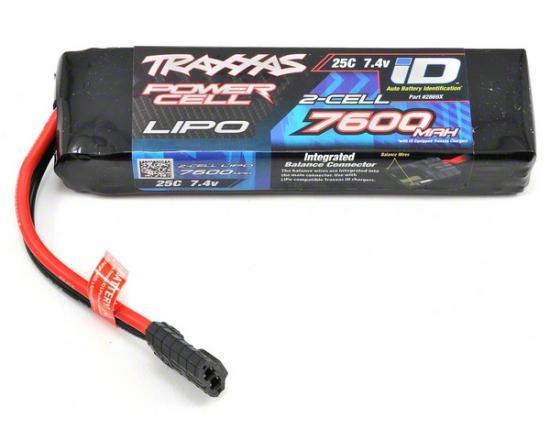 Traxxas iD LiPo Battery - 7600mAh 7.4V 2S 25C