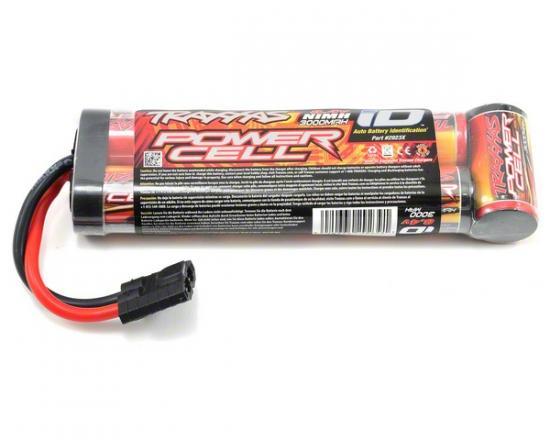 Traxxas iD NiMh Battery - 3000mAh 8.4v Flat