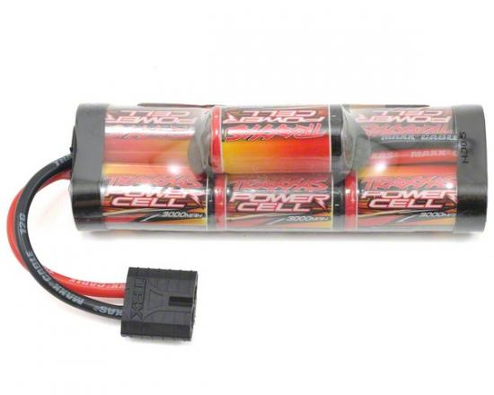 Traxxas ID Power Cell Hump Battery - 8.4v - 3000mAh - High Current Traxxas ID Connector