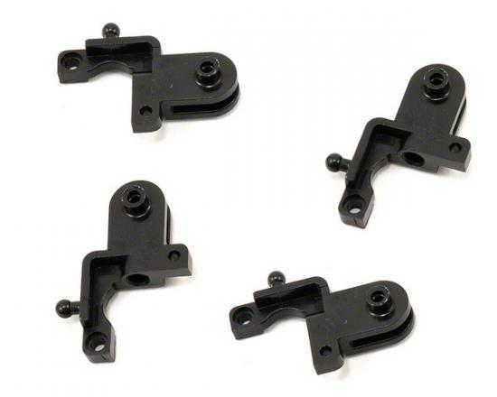 Traxxas Rotor blade grips (black) (4)