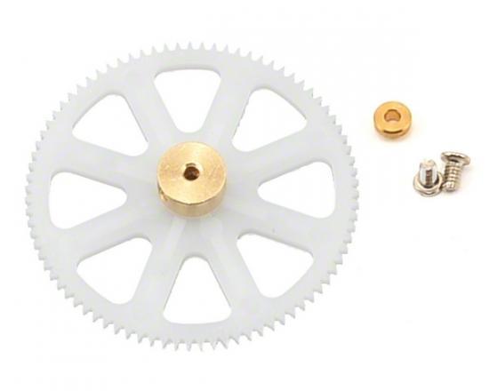 Traxxas Main gear lower (1) (for inner main shaft)/ bushing (1)/ screws (2)