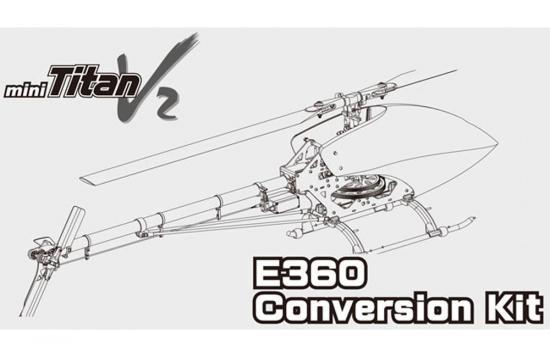 E360+ Conversion Kit