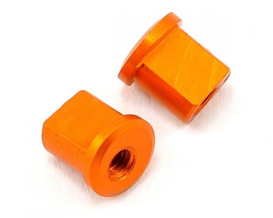 XRay Alu Eccentric Bushing 0.5mm - Orange (2)