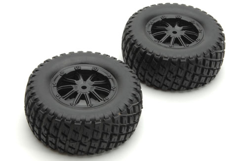 Wheel and Tyre (2pcs) Hunter
