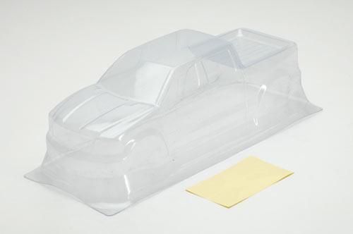 Clear Body (PVC) w/Decals Cross BL