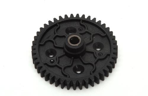 Spur Gear-43T(Plastic)w/Diff cover