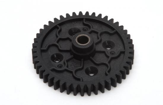 Spur Gear-45T Plastic w/Diff Cover