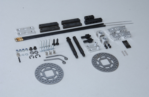 Tuning disk brake front 1:6 Off Rd