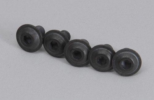 Pan-head flange screw M6x10, 5pcs.