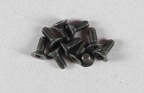 Countersunk screw w. Torx M4x10 x10