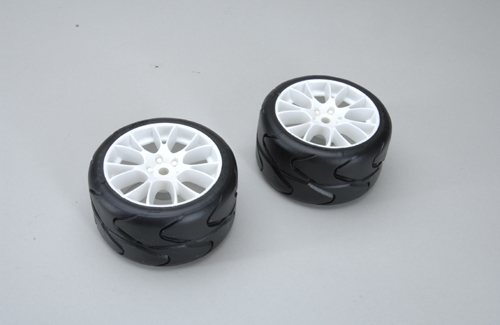 Rear Tyres S1-A/XSOFT glued (Pk2)