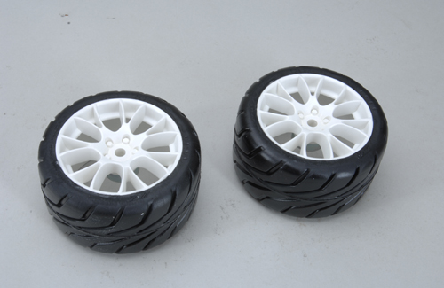 Front Tyres R1-A/XSOFT glued (Pk2)