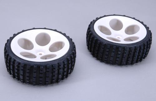FG Baja Tyres M Narrow Glued (Pk2)