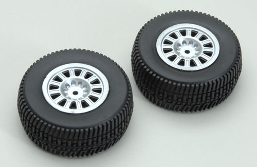 Wheel and Tyre Set(2pcs)Coyote